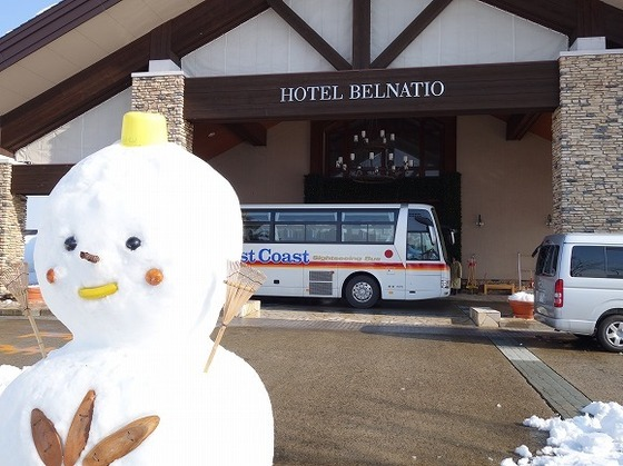 直行バスなら雪道の心配無用!