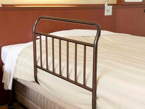 ベッドガードをお貸し出し品としてご用意。(※無料・要予約)