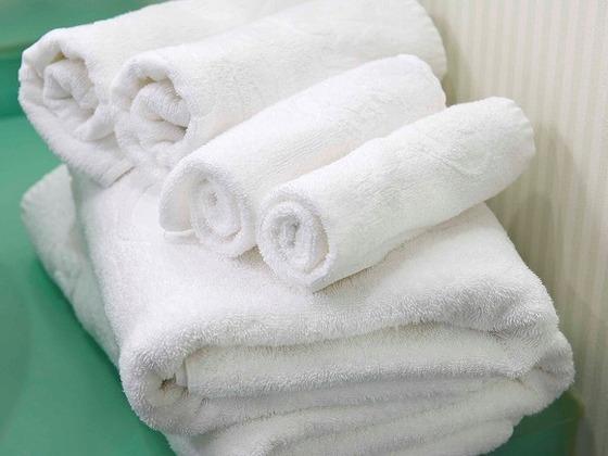 """「""""赤ちゃんと一緒""""Baby」宿泊プランでは、ご利用人数+2セット分のタオルをご用意。"""