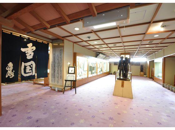 当館に宿泊されて生まれた作品など展示、与謝野晶子、鉄幹や北原白秋