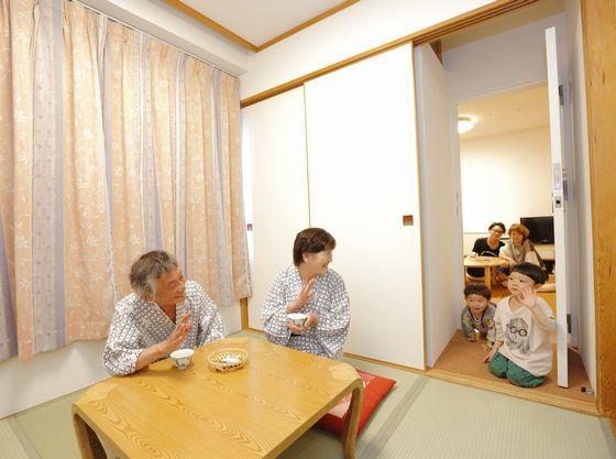 赤ちゃんプランハピネスルームに和洋室がつながった「コネクティングルーム」は三世代旅行におすすめです