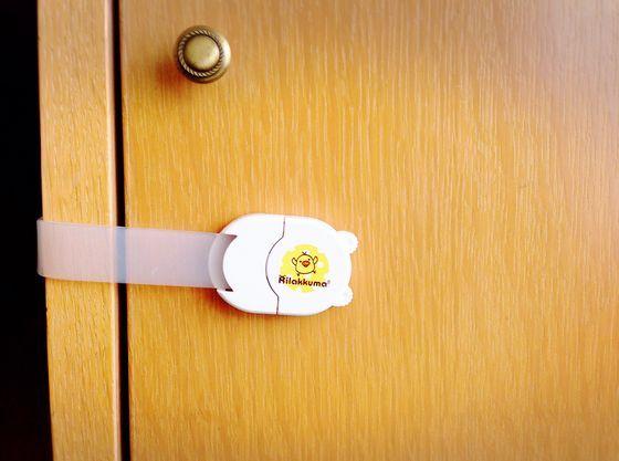 扉もロックできるようになっています
