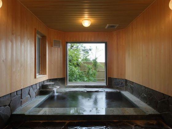 専用プランでのみ使用できる家風呂