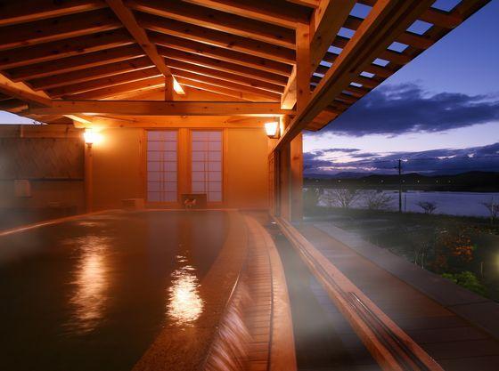 大浴場ひとりじめの湯に隣接した檜の湯