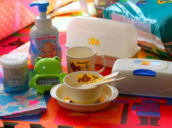 赤ちゃん用の備品も各種揃えておりますのでお申し付けください!!