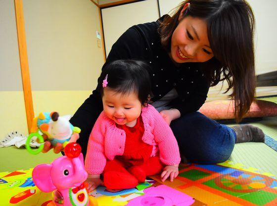 畳のお部屋で赤ちゃんもママも安心♪
