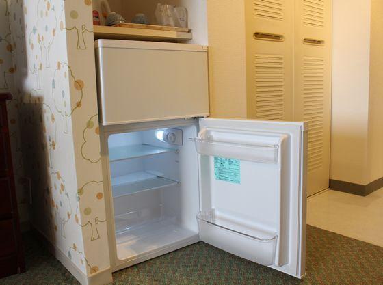 冷蔵庫の中はフリースペースです。