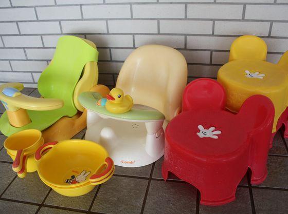 大浴場にはお子様の椅子をご用意しております。
