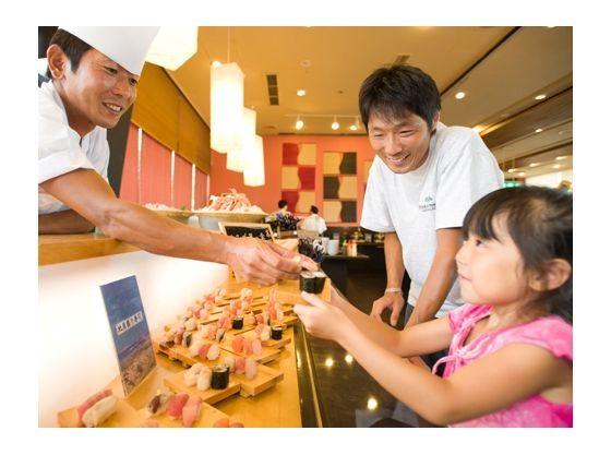 お寿司や天ぷら、季節の味覚も食べ放題!