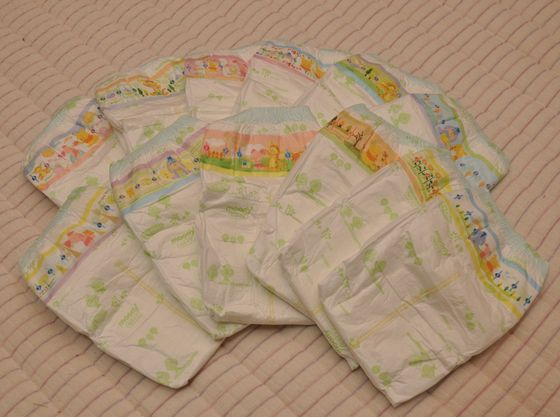 新生児サイズからBIGサイズまで全サイズの紙おむつを販売しております。