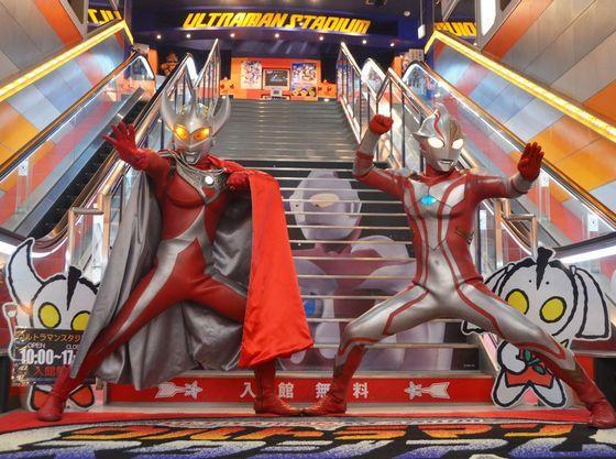 小さな子供も遊べる遊園地とウルトラマンスタジアム「手取フィッシュランド」車30分