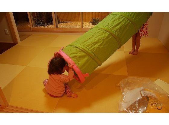 全室靴を脱いで滞在するので小さいお子様がいても安心。