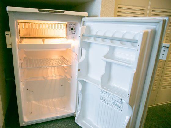 冷蔵庫は安全ガード有りで、ご自由にご利用頂けます