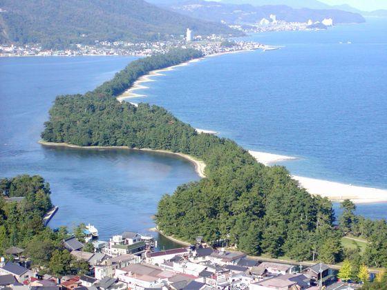 日本三景 天橋立 (ホテルより車で20分)