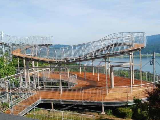 天橋立を見下ろすコンパクト遊園地:ビューランド:(ホテルより車で20分)