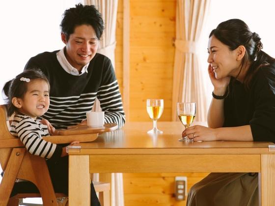ご家族でゆっくりとお食事をお楽しみください