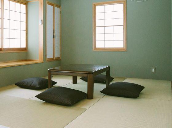 認定コテージには和室があるので、お昼寝をしたり、ゆったり過ごせます