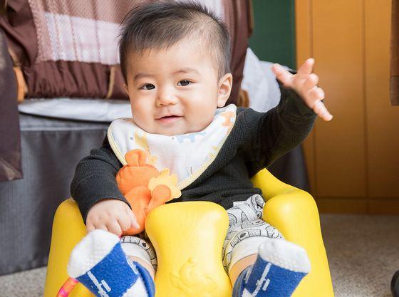 ベビーチェアやマットをご用意していますので、赤ちゃんも安心してお過ごしいただけます