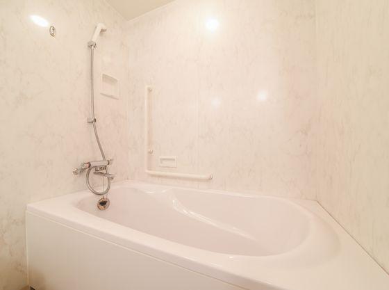 お部屋にもお風呂があるので、お子様と一緒に入浴できます
