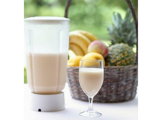 【朝食(一例)】当ホテル一番人気のフレッシュミックスジュース