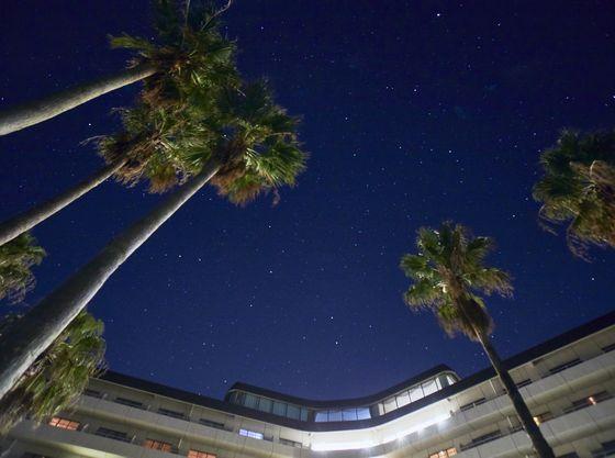 夜はたくさんの星に見守られて。天然のプラネタリウムを満喫♪