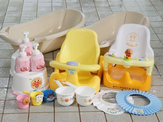 小さなお子様でもご入浴いただける備品をご用意。