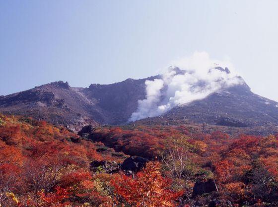 秋は那須岳の紅葉がお楽しみいただけます。