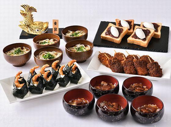 名古屋めしも楽しめる朝食ブッフェ。