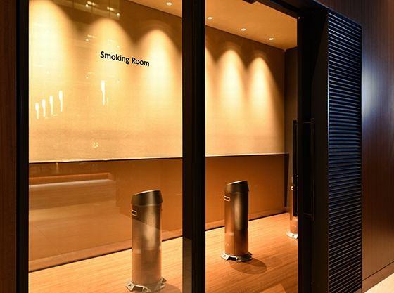 31階喫煙室。当ホテルは全室禁煙です。