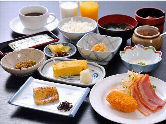 バランスの良い朝食