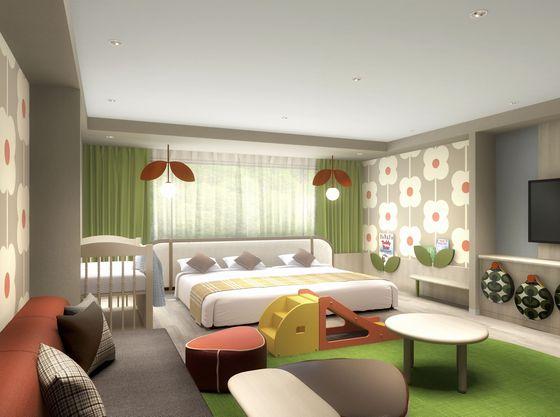 落ち着いた空間でお過ごし頂ける12畳の和室