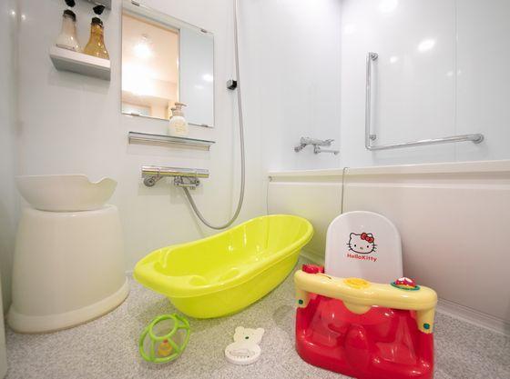 バストイレ独立タイプ、お部屋でゆっくりバスタイム