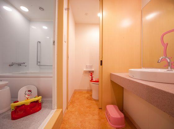 便利なバス・トイレ独立タイプ