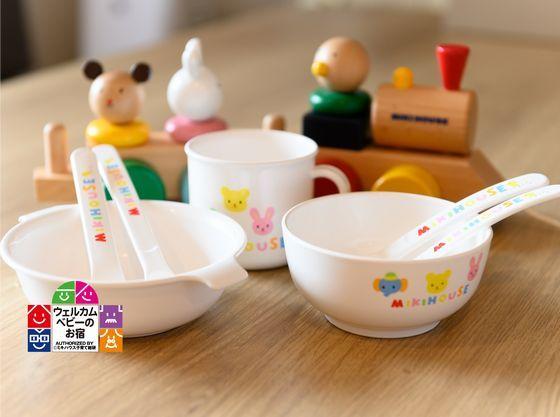 子ども用の食器もご用意してます