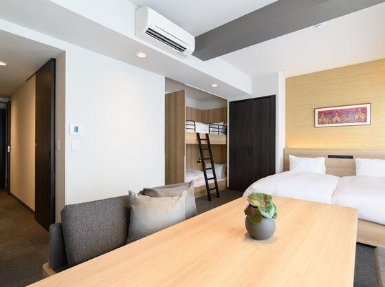 【認定外】キッズにおすすめの2段ベッドのお部屋※「ウェルカムベビーのお宿」認定部屋ではございません。