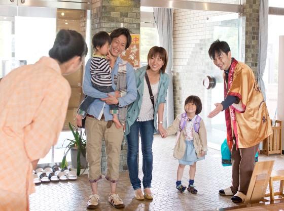 小さなお子様連れのご家族大歓迎の旅館ですので安心してお越し下さい。