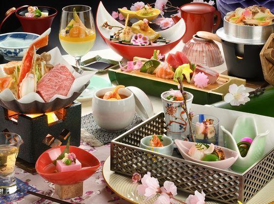 料理イメージです。季節により料理内容が変わります。
