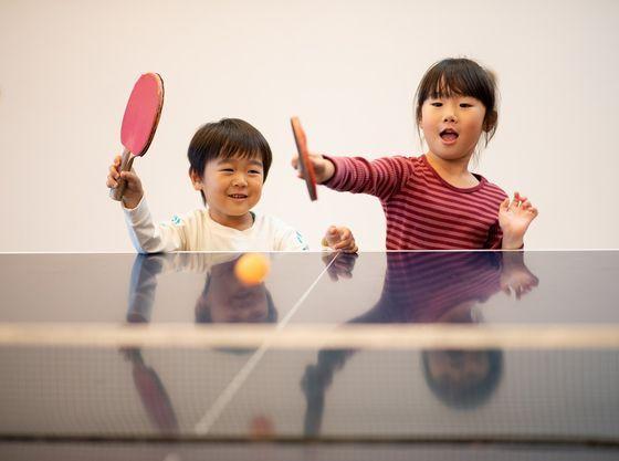 ご家族で卓球をお楽しみ下さい。