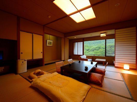 認定客室はロビー・お風呂など主要の場所へエレベーター1本で移動可能。