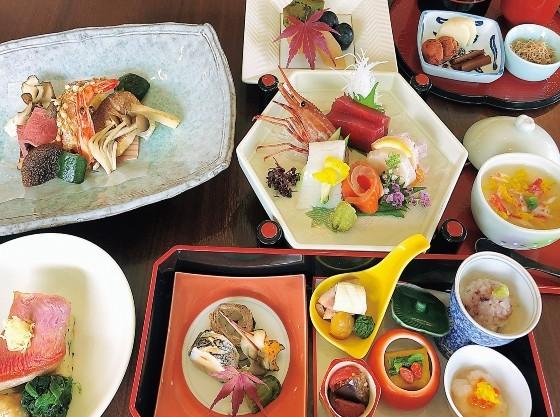 海の幸・山の幸を盛り込んだ和食膳をご用意いたします