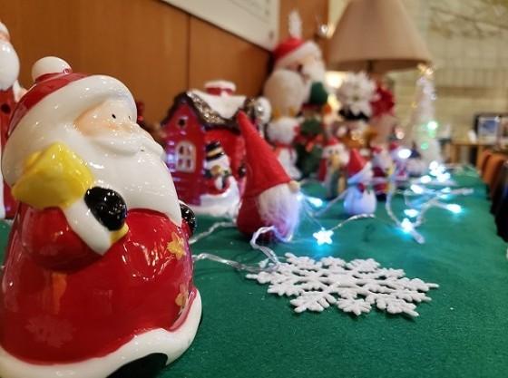 館内(クリスマス)プチライトアップを開催!