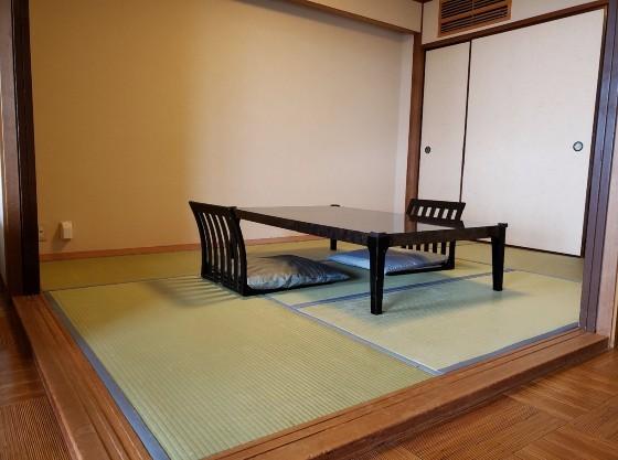 6畳の和室と