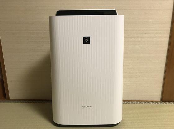 認定部屋には「加湿機能付空気清浄機」を常備しております
