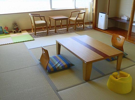 『ウェルカムベビーのお宿』認定和室(10畳)は2室あります
