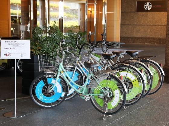 レンタサイクルで、長良川沿いをサイクリングするのもオススメ。