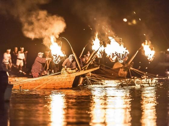 夏季には、ぎふ長良川鵜飼をお楽しみいただけます。
