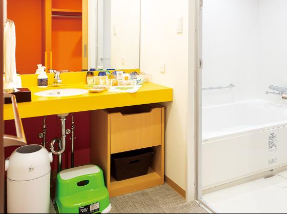 【ワンダーランド】38㎡ お子様との入浴も安心の洗い場付きバスルーム!