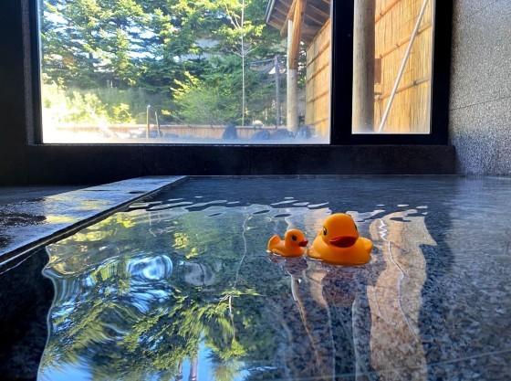 大浴場には水深の浅い「こども湯」あり。(画像は女湯)