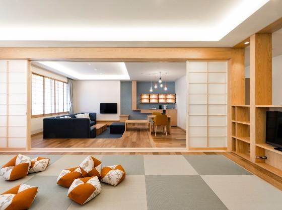 76平米の明るく開放的な客室