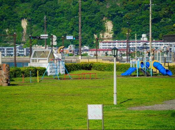 鎌倉海浜公園 徒歩約2分